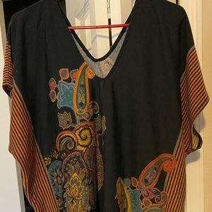 Tops - Poncho style blouse